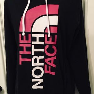 The North Face Tops - The North Face Large Breast Cancer Hoodie